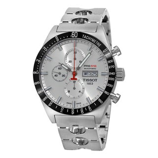 Tissot Men's 'T-Sport PRS 516' Steel Automatic Chronograph Watch