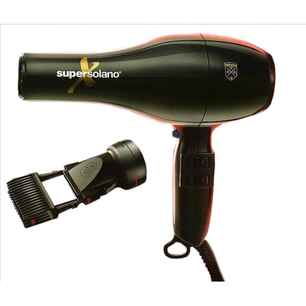 Super Solano X 1,875-watt Professional Comb/ Concentrator Hair Dryer