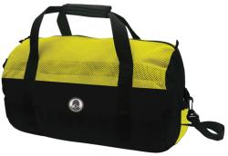 Stansport Yellow/ Black 20-inch Mesh Top Roll Bag