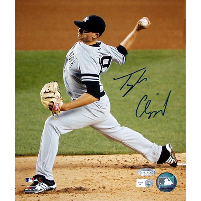 Steiner Sports Tyler Clippard Yankees Pitching Photograph