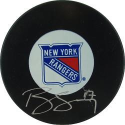 Steiner Sports Brandon Dubinsky Rangers Autograph Hockey Puck