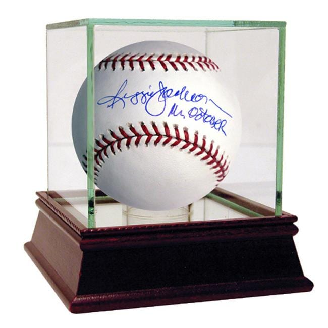 Steiner Sports Reggie Jackson Mr. October Autographed MLB Baseball