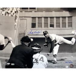 Steiner Sports Sandy Koufax Pitching Horizontal B/W 16x20 Photograph