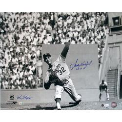 Steiner Sports Sandy Koufax Wind Up Horizontal B/W 16x20 Photograph