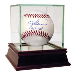 Jesse Orosco Autographed MLB Baseball w/ 'Last Out' Inscription