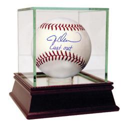 Jesse Orosco Autographed MLB Baseball w/ 'Last Out' Inscription