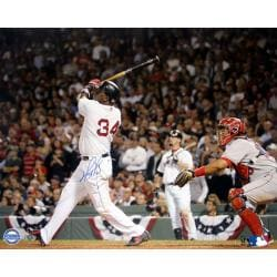 Steiner Sports David Ortiz Swing vs Angels 16X20 Photograph