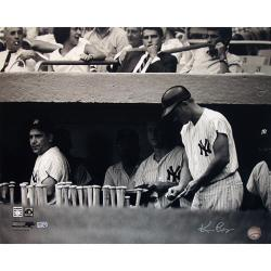 Steiner Sports Ken Regan Signed Yogi Berra in Dugout w/ Roger Maris 16x20 Photograph