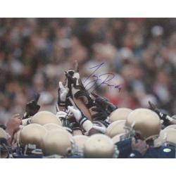 Steiner Sports Tony Rice Notre Dame Players Pointing 16x20 Photograph