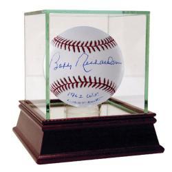 Steiner Sports Bobby Richardson MLB Baseball w/ '62 WS Last Out' Inscription