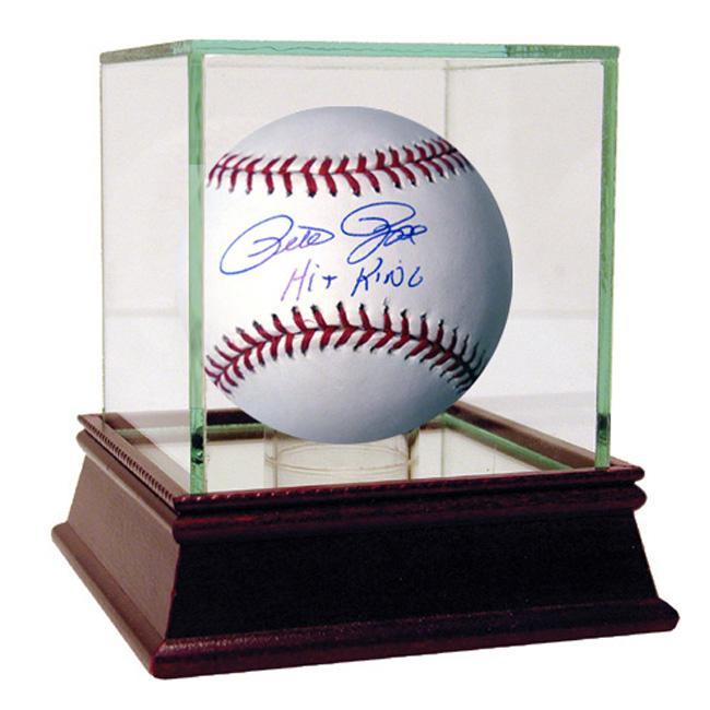 Steiner Sports Pete Rose MLB Baseball w/ 'Hit King' Inscription