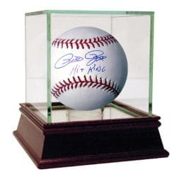 Steiner Sports Pete Rose MLB Baseball w/ 'Hit King' Inscription