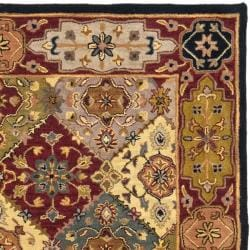 Handmade Heritage Bakhtiari Multicolored/ Red Wool Area Rug (9'6 x 13'6)