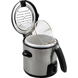 KitchenWorthy Stainless Steel Deep Fryer