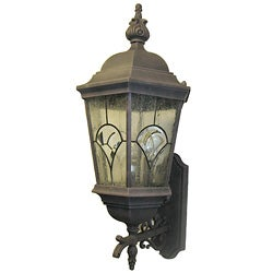 Designers Fountain Indoor/ Outdoor 3-light Gold Wall Lantern