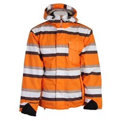 Sessions Men's Orange Ignition Snowboard Jacket