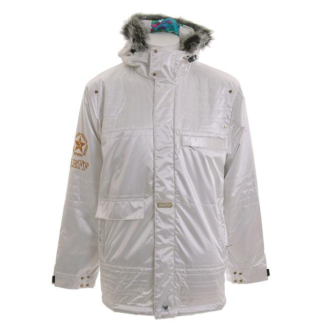 Sessions Men's 'Neff' Studio White Snowboard Jacket