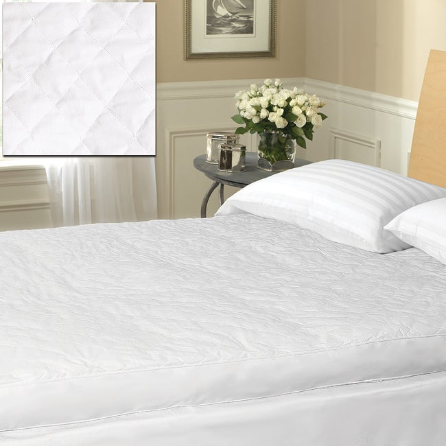 Overfilled Quilted Baffle Box 3-inch Gusset Featherbed