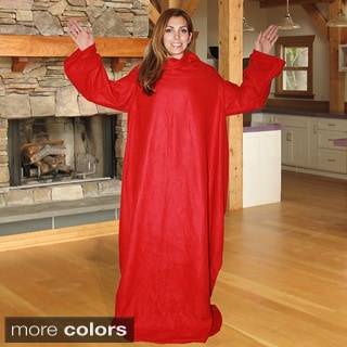 As Seen on TV Soft Fleece Sleeved Blanket