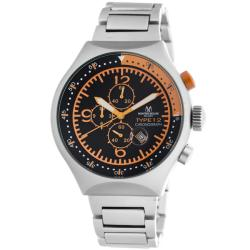 Montres De Luxe Men's '50 MM Type 12 Summer' Orange Helicopter Watch