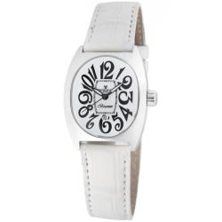 Montres De Luxe Women's 'Bisanzio' Leather Strap Watch