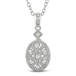 Sterling Silver Diamond Fashion Necklace