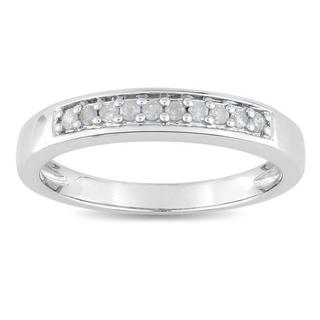 M by Miadora Sterling Silver 1/10ct TDW Diamond Ring (H-I, I2-I3)