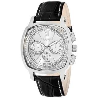 Akribos XXIV Men's Multifunction Diamond Watch