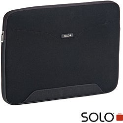 Solo CheckFast Protective Padded Zippered 17-inch Laptop Sleeve