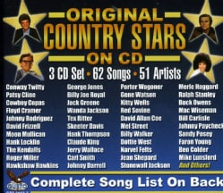 ORIGINAL STARS ON CD - ORIGINAL STARS ON CD