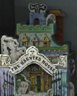 The Haunted House/Mini House Book (Board book)