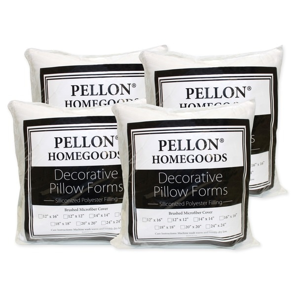 20 x 20 Pillow Inserts (Set of 4)