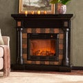 Blanchard Black Electric Fireplace