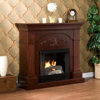 Gilbert Mahogany Gel Fireplace