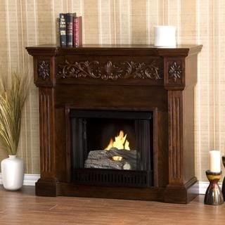 Wellington Espresso Gel Fireplace