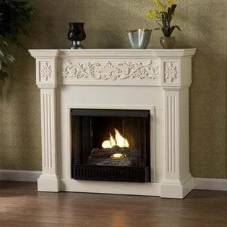 Wellington Ivory Gel Fireplace