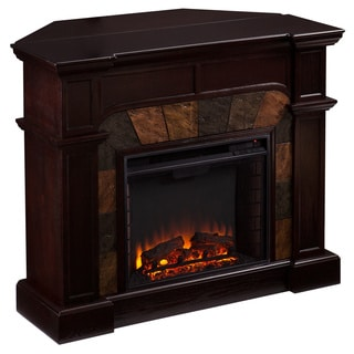 Upton Home Hollandale Espresso Electric Fireplace