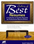 Gallery of Best Resumes: A Collection of Quality Resumes by Professional Resume Writers (Paperback)