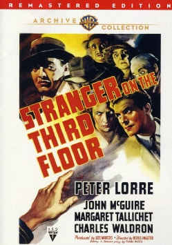 Stranger On The Third Floor (DVD)