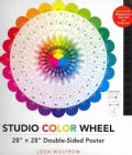 Studio Color Wheel: 28 x 28 Double-Sided Poster (Poster)