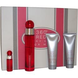 Perry Ellis '360 Red' Men's 4-piece Fragrance Set