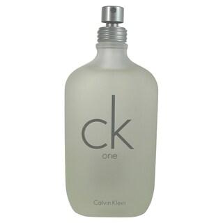 Calvin Klein C.K. One Men's 6.7-ounce Eau de Toilette Spray (Tester)