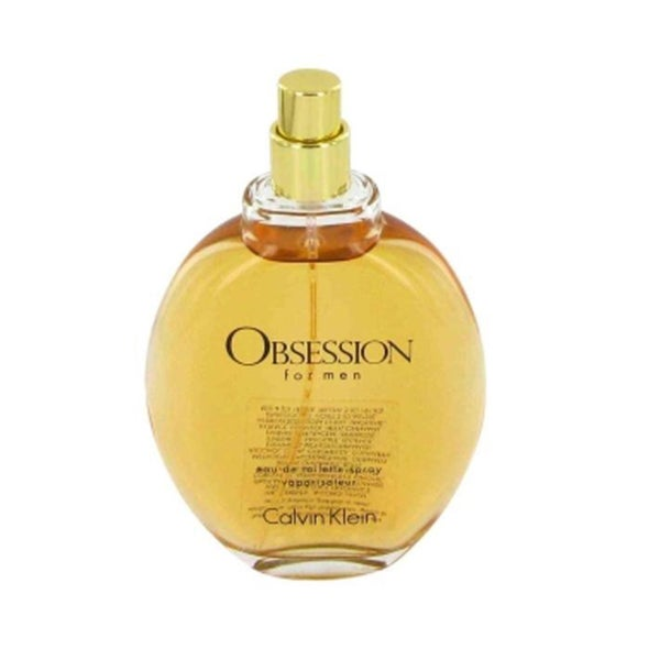 Calvin Klein Obsession Men's 4-ounce Eau de Toilette Spray (Tester)