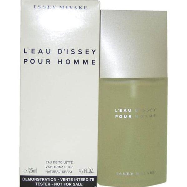 Issey Miyake Leau Dissey Men's 4.2-ounce Eau de Toilette (Tester) Spray