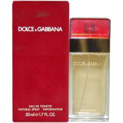 Dolce & Gabbana Women's 1.7-ounce Eau de Toilette Spray