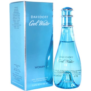 Davidoff Cool Water Women's 3.4-ounce Eau Deodorant Spray