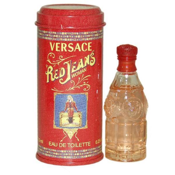 Versace 'Red Jeans' Women's 0.22-ounce Eau de Toilette Mini Splash
