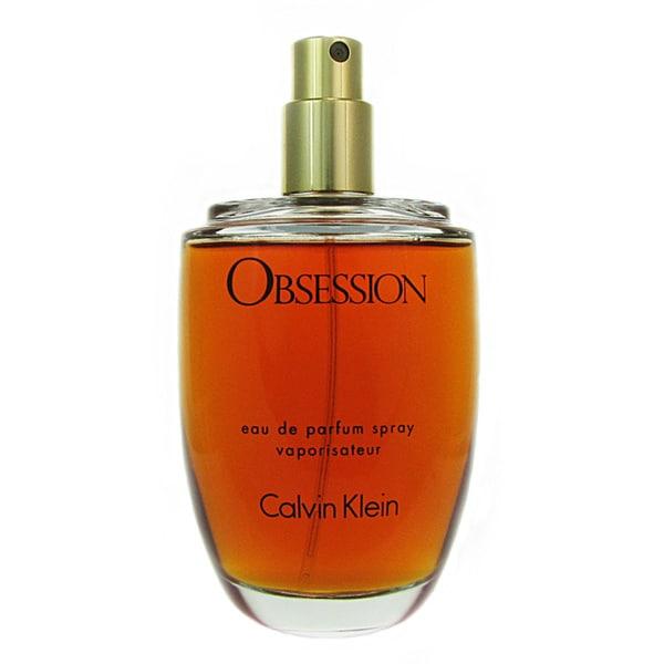 Calvin Klein Obsession Women's 3.4-ounce Eau de Parfum (Tester) Spray