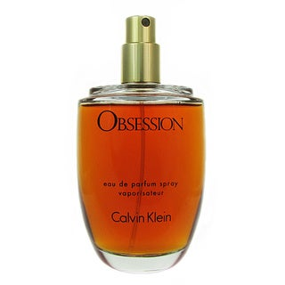 Calvin Klein Obsession Women's 3.4-ounce Eau de Parfum (Tester) Spray