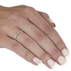 Tressa Sterling Silver Twisted Ring